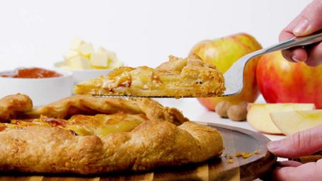 rustic french apple tart recipe