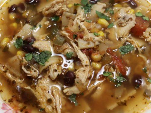 Southwest Chicken Soup Recipe (Chili's Copycat)