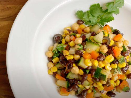 Southwest Chickpea Salad Recipe