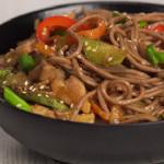 stir fry soba noodles with veggies recipe