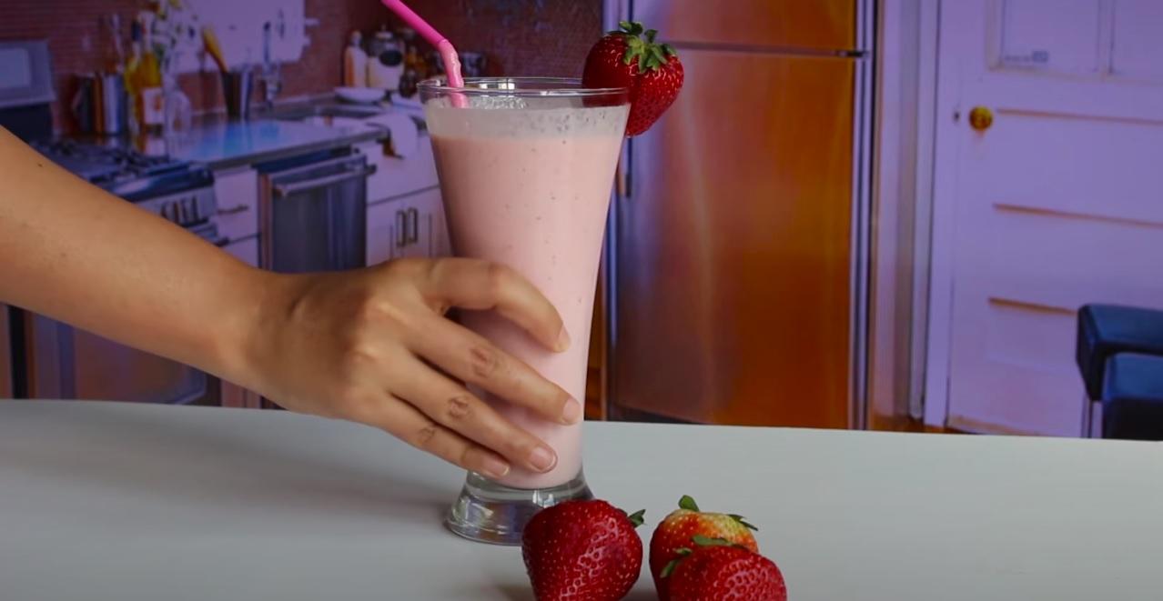 strawberry milkshake recipe