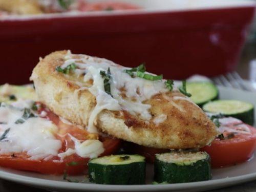 Summer Chicken Parmesan Recipe