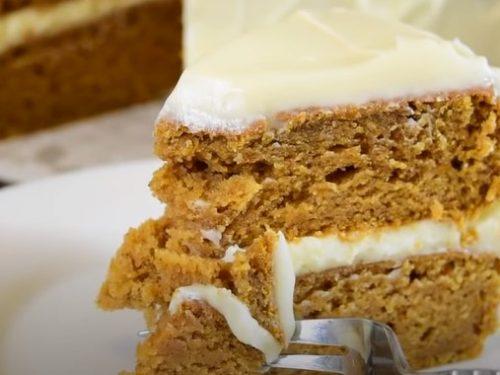 Sweet Potato Cake with Marshmallow Frosting Recipe