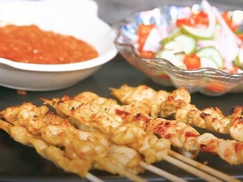 Thai Chicken Skewers Recipe