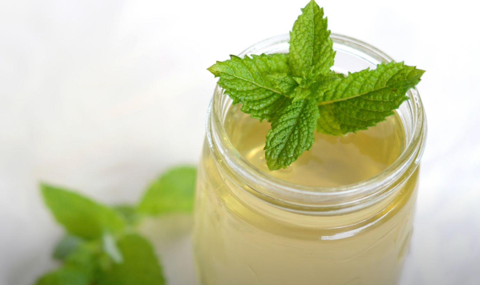 Vanilla-Mint Cordials Recipe