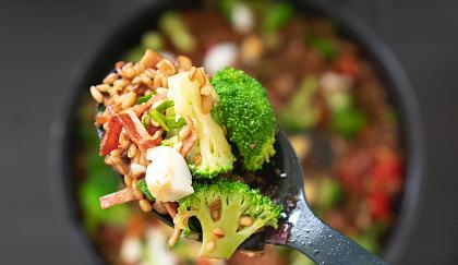 warm broccoli and barley pilaf recipe