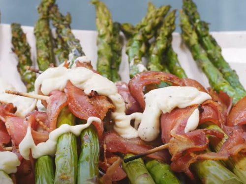pancetta wrapped asparagus recipe