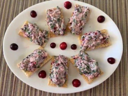 cranberry cream cheese spread recipe