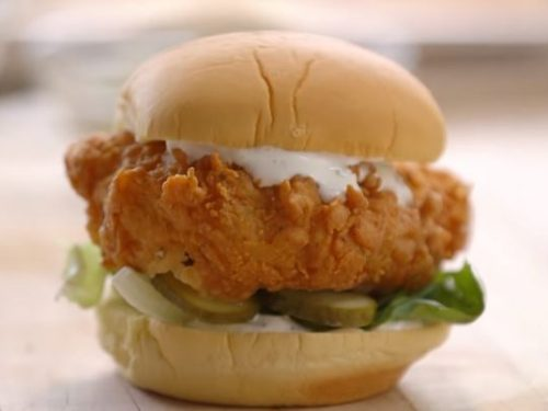 crispy chicken sandwich recipe