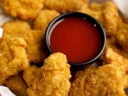 crispy chicken nuggets recipe