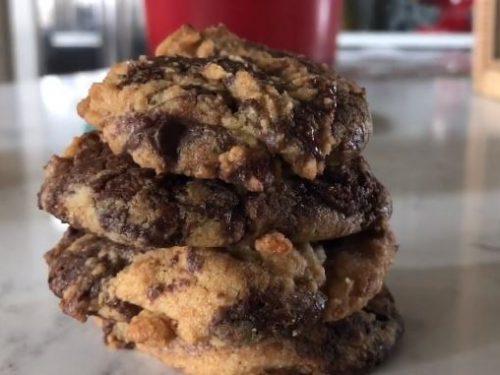 brownie-blasted cookies recipe