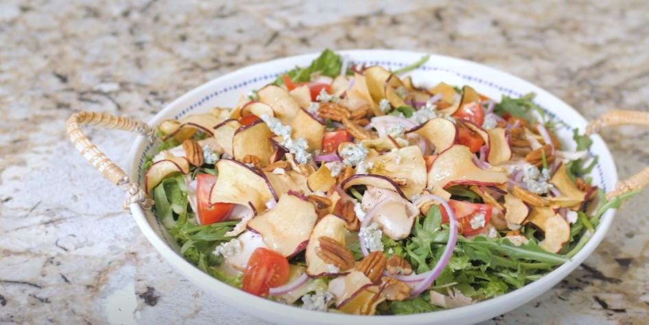 chicken and apple salad recipe