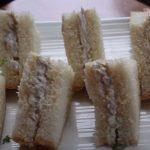 chutney chicken salad tea sandwiches recipe