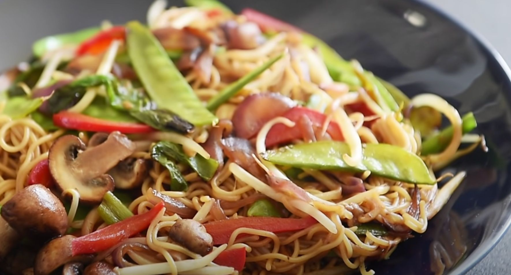 20 Minute Vegetable Lo Mein Recipe