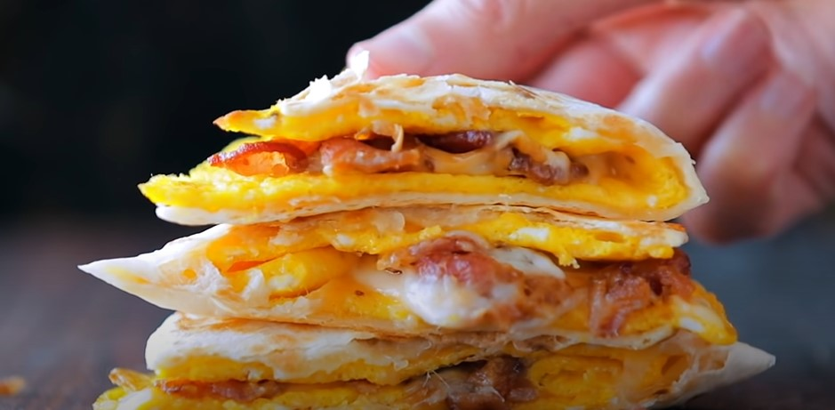 simple breakfast quesadillas recipe