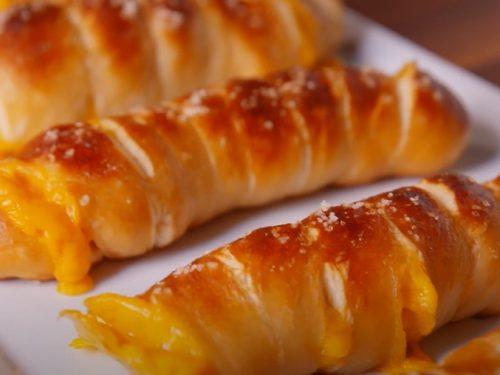 cheesy pretzel twists recipe