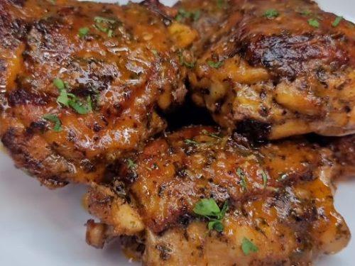 spinach artichoke chicken thighs recipe