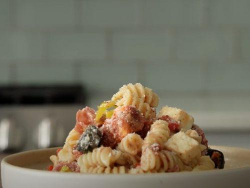 turkey cranberry pasta salad recipe