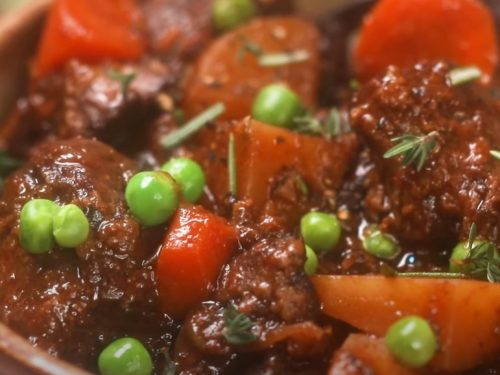 beef stew with bacon recipe