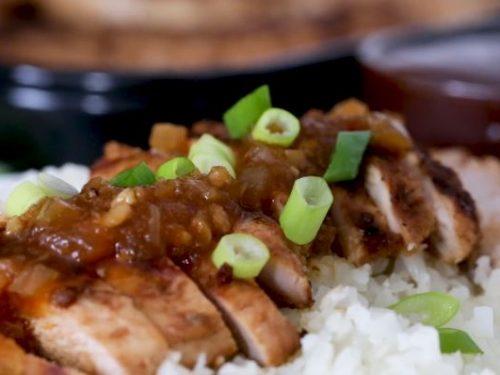 grilled bourbon chicken recipe