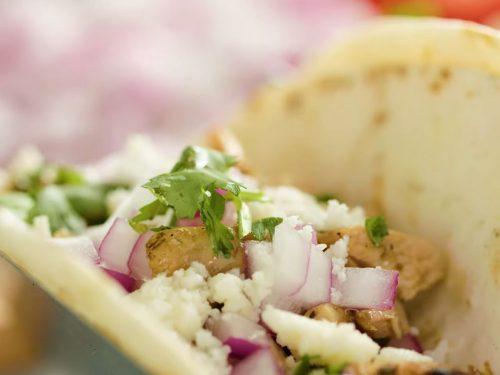 garlic chicken tacos recipe
