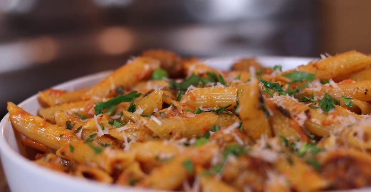 italian sausage and penne recipe