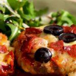 pizza stuffed mushrooms recipe