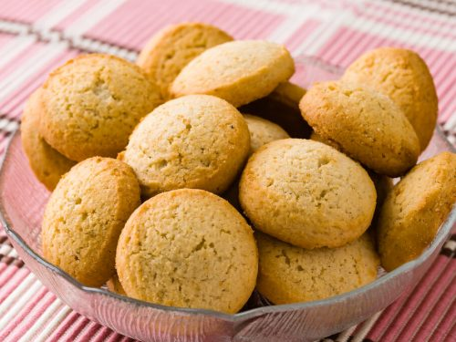 Cardamom Cookies Recipe, soft and buttery cookies with cardamom, cinnamon, and almonds