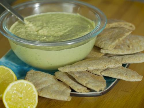 arugula hummus recipe
