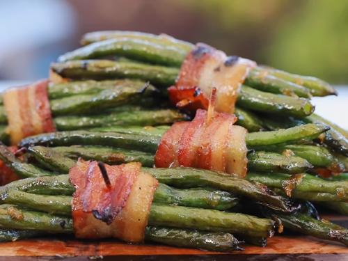 bacon wrapped green bean bundles recipe