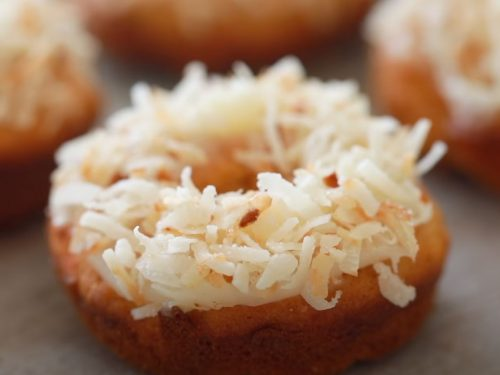 Baked Carrot Cake Donuts with Cream Cheese Frosting Recipe