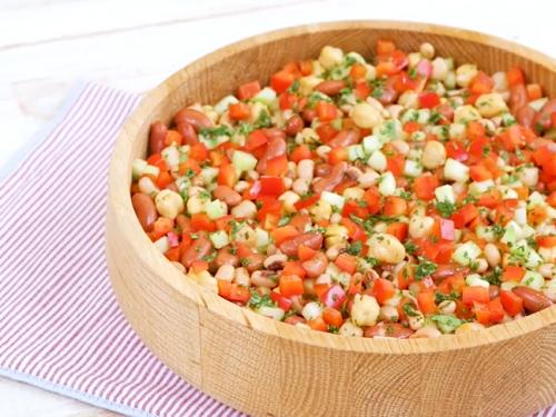 bean trifecta (three bean salad) recipe