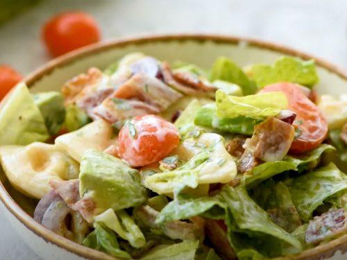 BLT Tortellini Pasta Salad Recipe