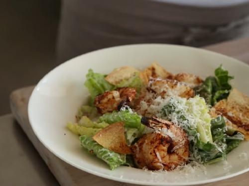 caesar salad with shrimp recipe