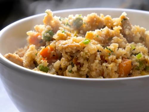 cauliflower chicken fried rice recipe