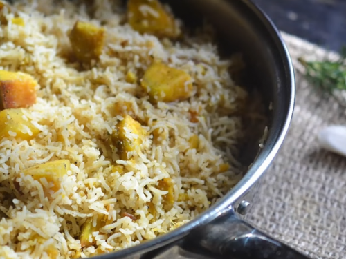 chicken and sweet potato rice recipe