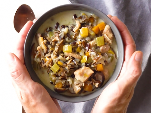 chicken and wild rice soup recipe