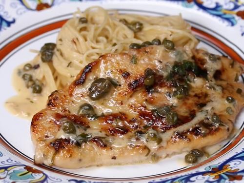 chicken piccata recipe (olive garden copycat)