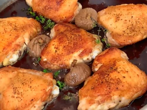chicken with port and figs recipe