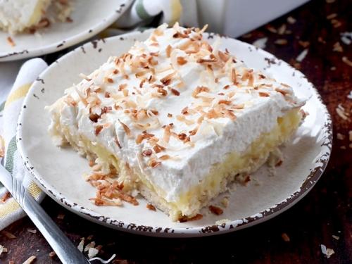 chocolate coconut cream pie bars recipe
