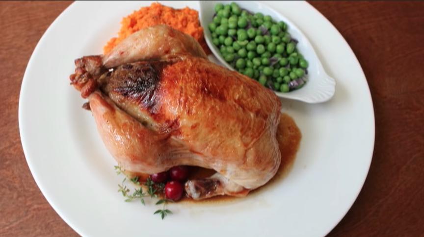 cornish game hens with mushroom stuffing recipe