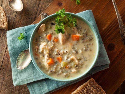 creamy turkey wild rice soup recipe