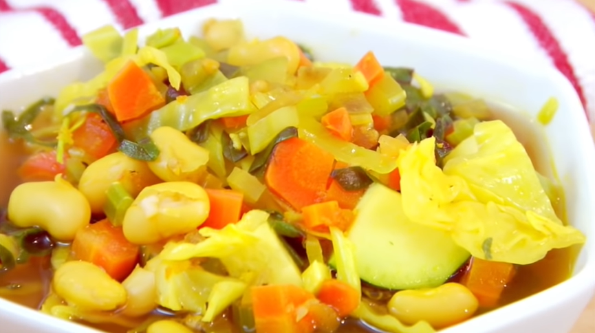 detox vegetables soup recipe