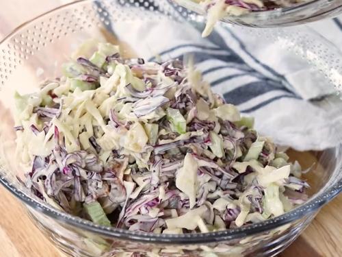 dill pickle coleslaw recipe