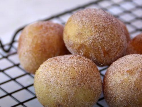 Donut Holes Recipe