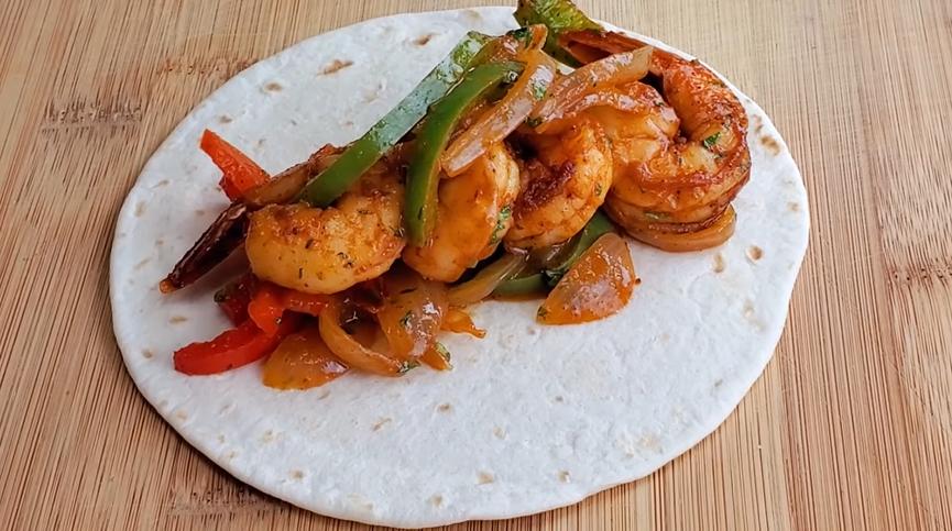 easy grilled shrimp fajitas recipe