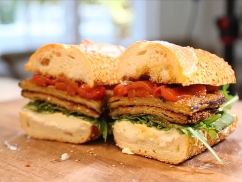 eggplant parmesan sandwich recipe
