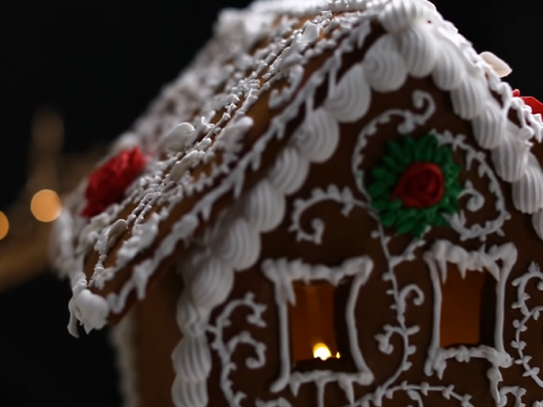 gingerbread houses recipe