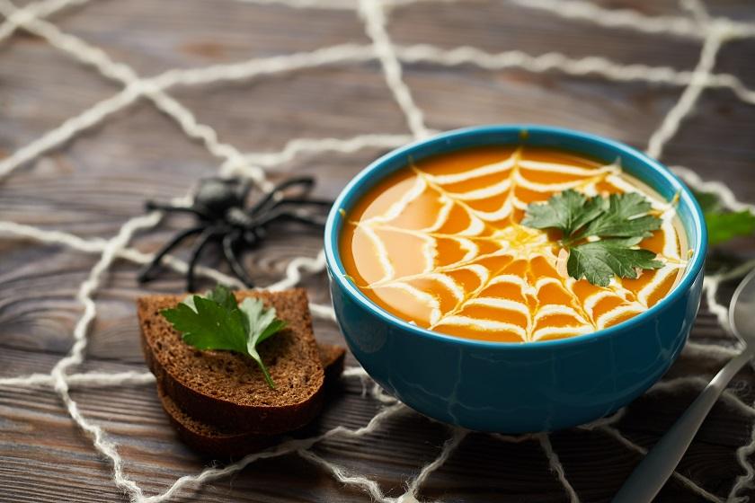 halloween pumpkin soup recipe