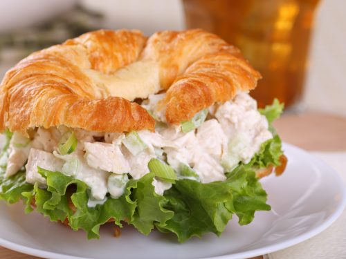 hawaiian chicken salad sandwiches recipe
